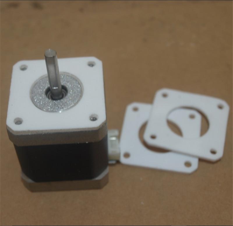 Funssor 1pcs  NEMA 17 Stepper Motor Anti Vibration PTFE damper Vibration Damper Shock Absorber for CNC Reprap 3D printers