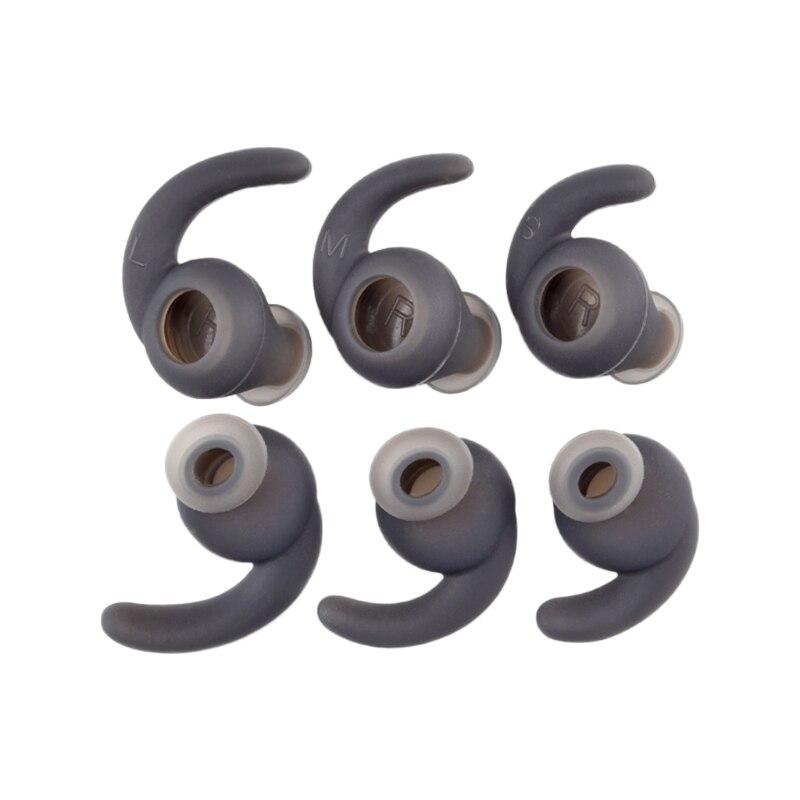 3 pares S/M/L auriculares de silicona cubierta con gancho para la oreja para JBL auriculares Bluetooth deportivos