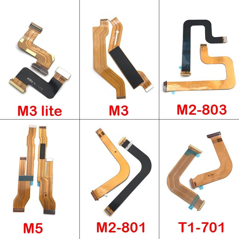 Para Huawei MediaPad M3 Lite/m2-802 m2-802 m2-803/m5/T1-701u placa base LCD conector Flex Cable Ribbon
