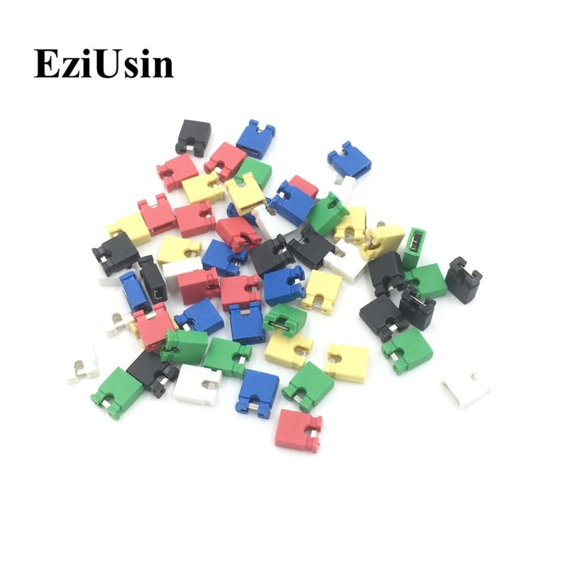 EziUsin, broche de colores, conector estándar de ordenador, bloques de puente, conector 2,54mm 3 1/2, tarjeta de expansión de la placa base de la unidad de disco duro