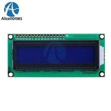 LCD1602 1602 Module Blue Screen Blue Blacklight 16x2 Character LCD Digital Display Module HD44780 Controller Control