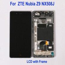 Original meilleur panneau de verre de travail pour ZTE Nubia Z9 NX508J LCD affichage écran tactile numériseur assemblée téléphone capteur remplacement