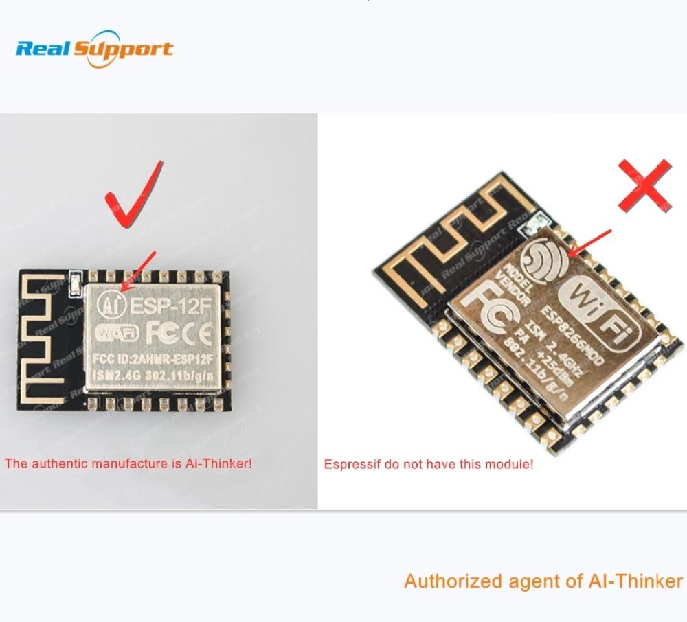 10 шт./лот ESP8266-12 ESP-12 ESP-12E ESP-12F ESP8266 WIFI беспроводной модуль 32 мбит флэш-память ESP-12S лента и катушка