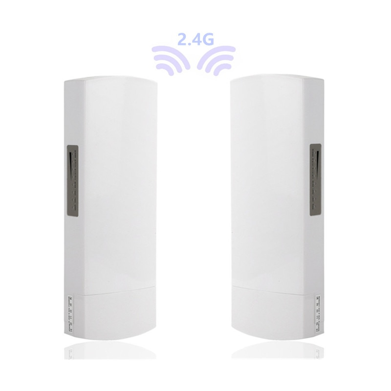 Repetidor 2 piezas 1-3km 300 Mbit router abierto CPE 2,4G router de...