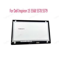 15 6fhd touch glass digitizer panel lcd screen assembly 40 pins for dell inspiron 15 5568 5578 7569 p58f p58f001 b156hab01 0