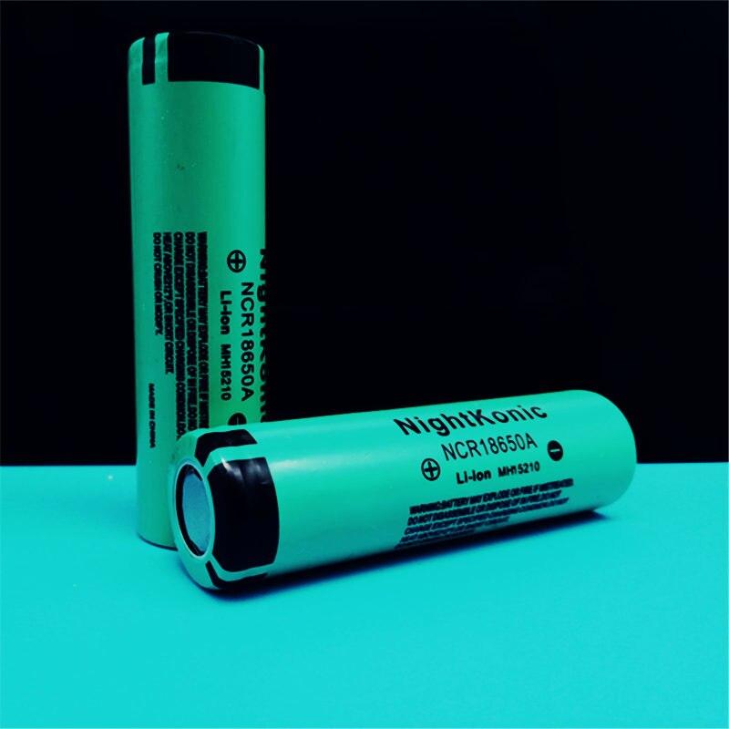 Оригинальный Nightkonic 2 шт./лот 18650 аккумулятор 2000 мАч оригинальный 3 7 В литий ионный