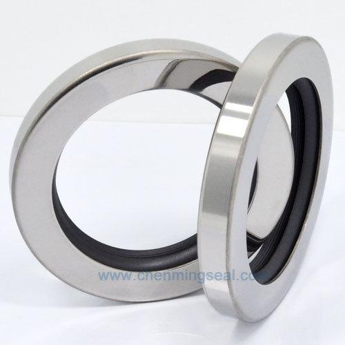 65*80*10 mm Compressor Oil Seal With Dual PTFE Dual Lip Atlas Copco Screw Air Compressor Repair Parts