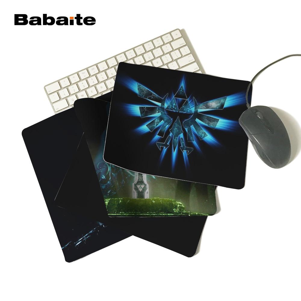 BabaiteArrival легенда о Зельде орлы логотипы меч трифорс Triforce коврик для мыши на заказ компьютерный ноутбук нескользящий коврик для мыши