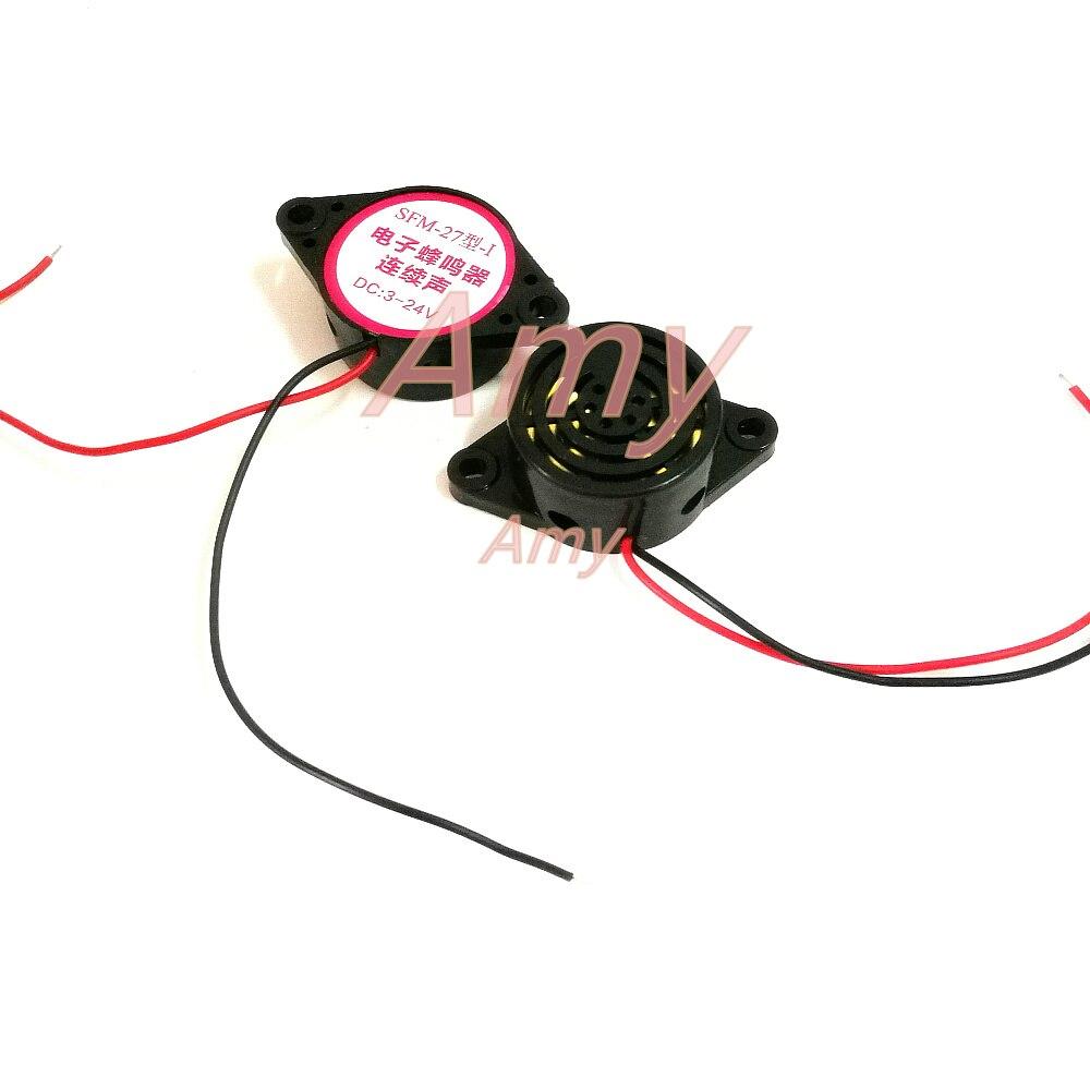 3105A wysoka głośność alarmu (SFM-27) DC3-24V z ciągłym dźwiękiem dzwonek alarmu Yuanxun