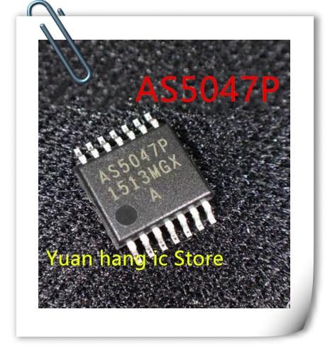 10 unids/lote AS5047P-ATSM TSSOP14 AS5047 AS5047P nuevo original