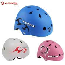 Essen Sport enfants BMX casque de vélo protection complète vélo adulte EPS + ABS matériel montagne vélo de route patinage sports de plein air casques