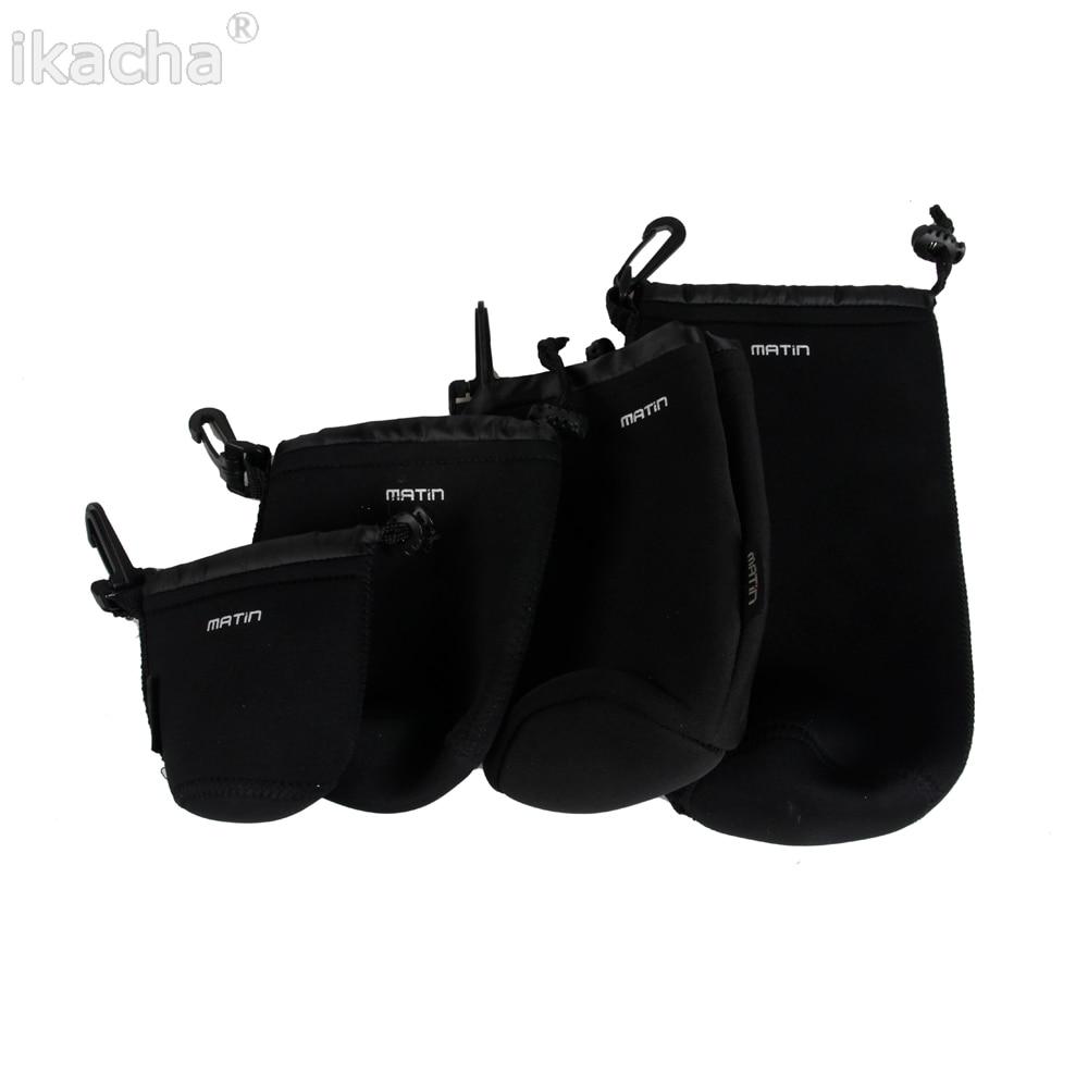 Waterdichte Universele Matin Neopreen Zachte Video Camera Lens Pouch Bag Case Full Size SML XL Voor Canon Nikon sony Black