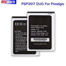 Mcdark 2000mAh PSP3517 DUO Battery For Prestigio Wize NX3 Batterie Bateria Accumulator Mobile Phone