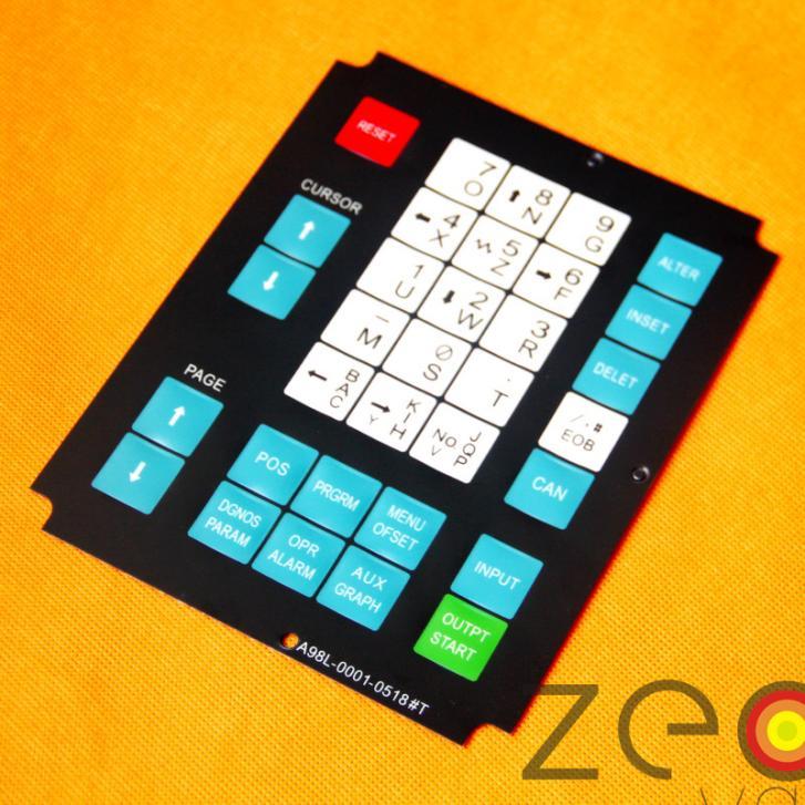 1 Uds A98L-0001-0518 # T teclado de operador para Fanuc membrana teclado