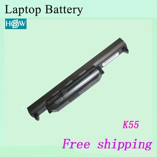 Аккумулятор K55 K55A K55D K55DE K55DR K55N K55V K55VD K55VM K55VS, Аккумулятор для ноутбука ASUS A32-K55 A33-K55