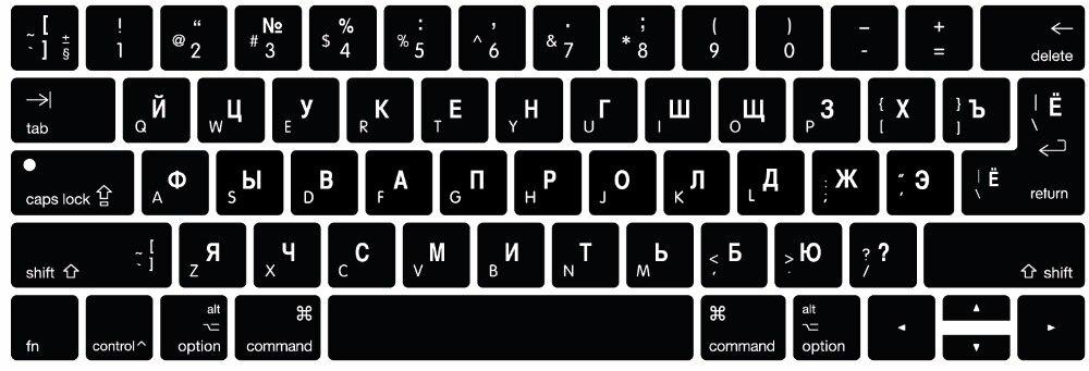 Funda protectora para teclado español portugués árabe ruso francés italiano para MacBook Pro 13 15 con barra táctil A1706