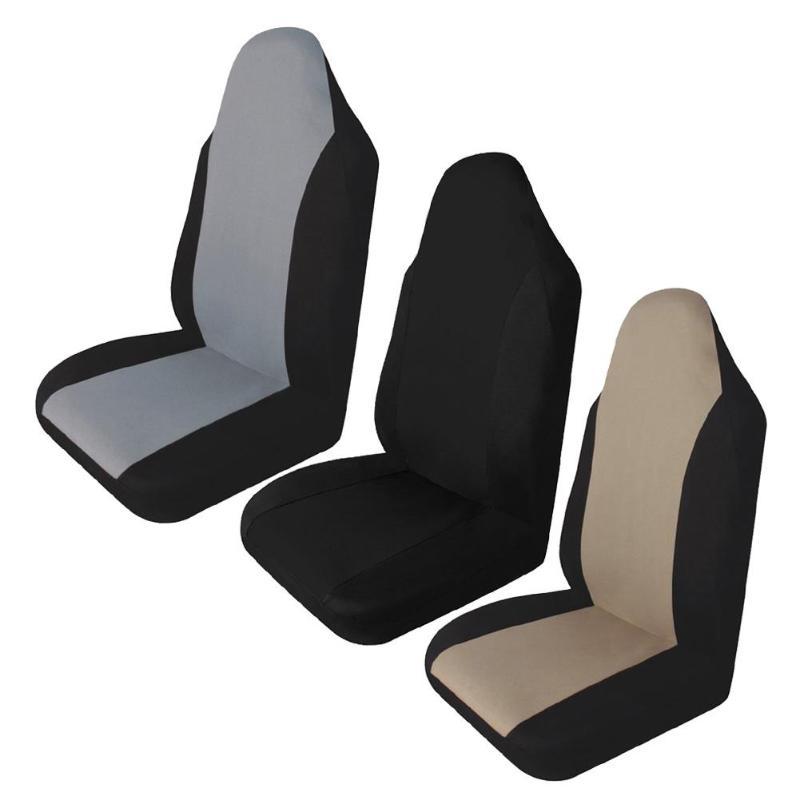 Универсальный чехол для автомобильных сидений, прочный автомобильный передний задний стул, двойные сетчатые Чехлы, подушка, защитная накладка для внедорожника, автомобильные аксессуары