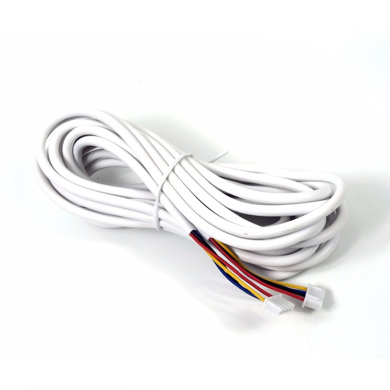 AVVR 4 Core 5M/10M/20M Extension Cable 4 Wire Copper Line for Video Door Phone Doorbell Intercom System enlarge