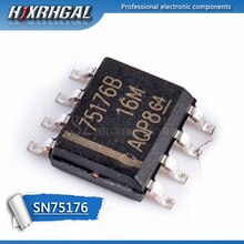 10PCS SN75176BDR SOP8 SN75176B SOP SN75176 SOP-8 75176B SMD nieuwe en originele IC HJXRHGAL