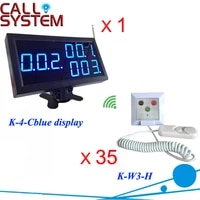 new wireelss emergency calling button system 1 monitor 35 bed pull cord call for nursing house