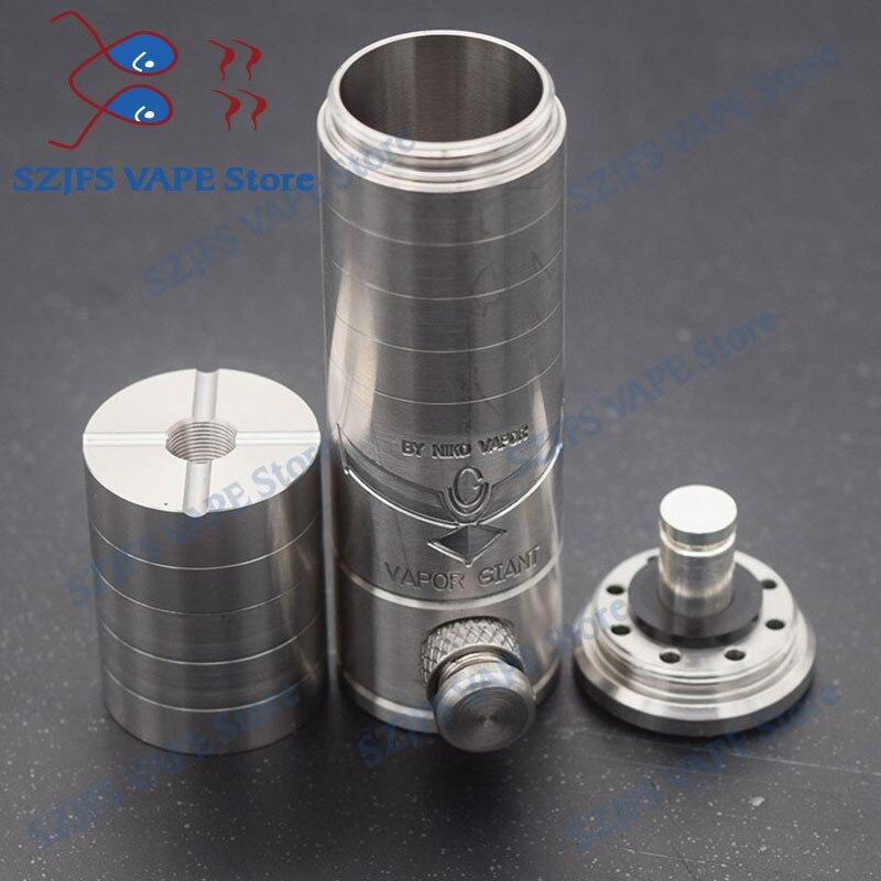 mechanical Mod Kit electronic cigarette Mech mod 18650 battery brass 32.5/23mm 316ss steam vaporizer vape VS sxk sob mod kit enlarge