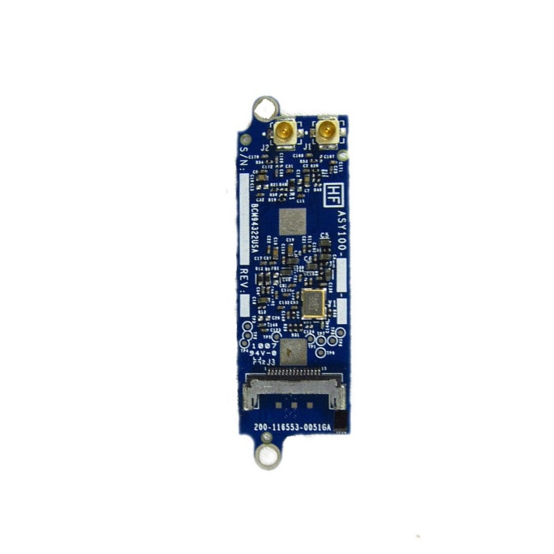 5 unids/lote Wireless Wifi Bluetooth Tarjeta de aeropuerto para Macbook Pro A1278 A1286 A1297 607-4144-A 607-4145-A 607-4147-A 2008 ~ 2010