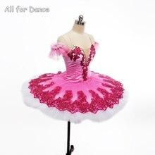 2017 New Arrival Professional Ballet Tutu Sugar Plum Rose Red Women & Girl Stage Peroformance Ballet Tutu Ballerina Dance Tutu