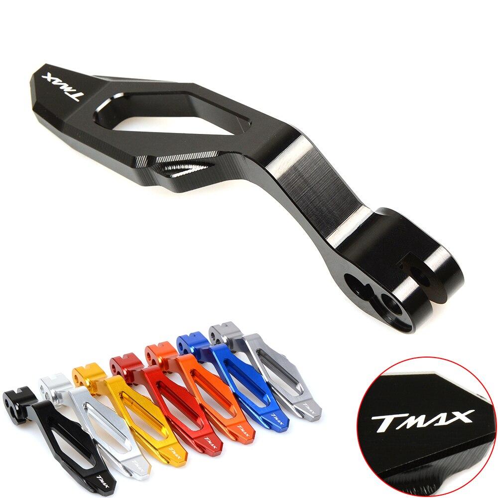 Accesorios de motocicleta palanca de freno de estacionamiento TMAX 500 2008-2011 t-max 530 2012-2015 XP530 XP500 CNC aluminio 2009 2010 2013 2014
