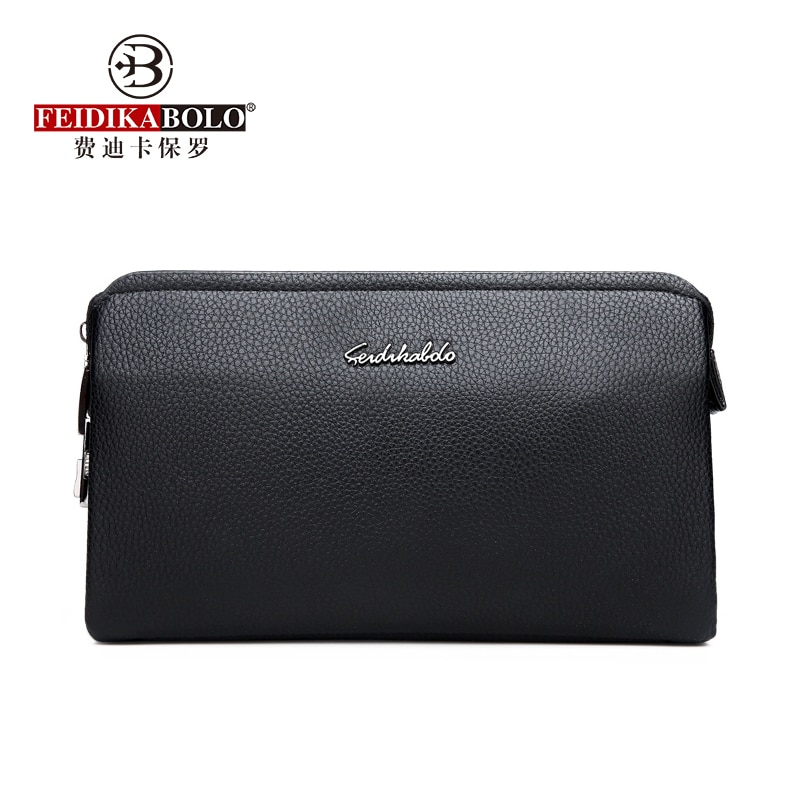 Fashion Men Clutches Wallets Male New Top Quality Leather Long Wallet Purse Clutch Zipper