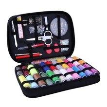 Fil à coudre aiguille de couture   Artisanat, outils de machines à coudre, accessoires 22 couleurs, organisateur de stockage de matériaux de couture