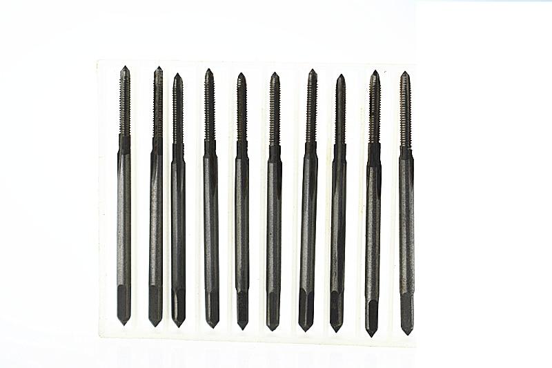 10 teile/los M2 * 0,4 Maschine gewindebohrer HSS H2 Gerade Genutet Schraubengewinde Metrische Stecker Hand Gewindebohrer