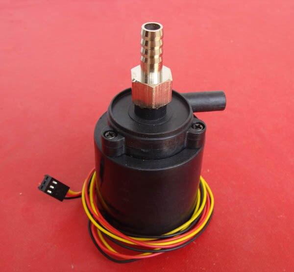 Rápido envío gratis 12V 0.33A lift 1,2 M 3pin plug con línea de curso medido ordenador 12v brushless CC bombas para Coiling de agua