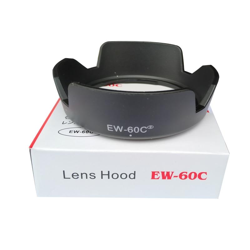 EW-60CII 18 EW60CII Flor forma Lens Hood para canon EF-55mm 28-90mm 28-80mm