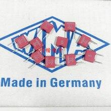 2020 offre spéciale 10 pièces/20 pièces 17 ans neuf allemand WIMA CONDENSATEUR 104 0.1UF 100V MKS2 5% P5 AVEC 63v Condensateur Audio livraison gratuite