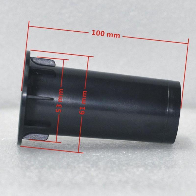 1PCS Speaker Port Tube Subwoofer Bass Reflex Tube Speaker Box Port Tube 53x100mm