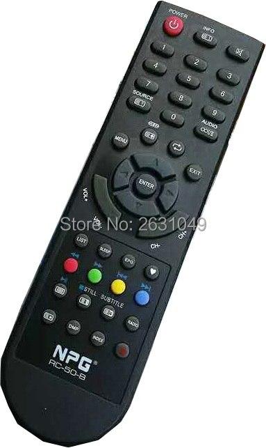 Brand New and Original RC-50-B NPG LED TV Remote Control =RC-06-B for NL 2212 HFB, NLD-3232HHB, NL1910SHB NL2210HFB, NL-3216HHBS