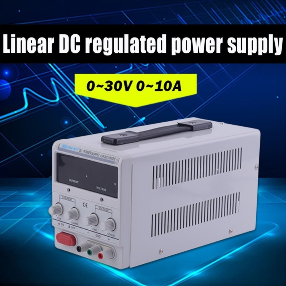 1 Unidad Universal DC 0-30V de laboratorio fuente de alimentación ajustable Variable ajustable alimentador Variabile Regulador de Voltaje 0-5A