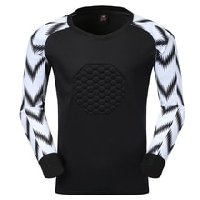 Men Rugby Soccer Jerseys Goalkeeper Survetement Football Jersey Shirts Goal Keeper Sport Kits Chest Protector Customized Print