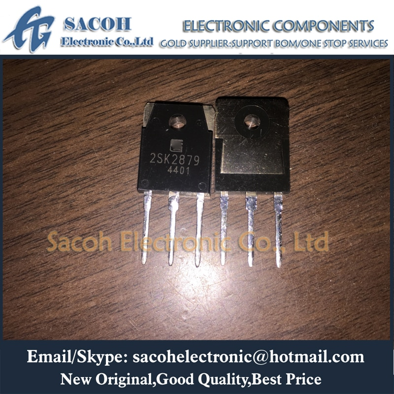 Free Shipping 10Pcs 2SK2879-01 2SK2879 2SK2877 2SK2873 TO-3P 20A 500V N-channel MOSFET