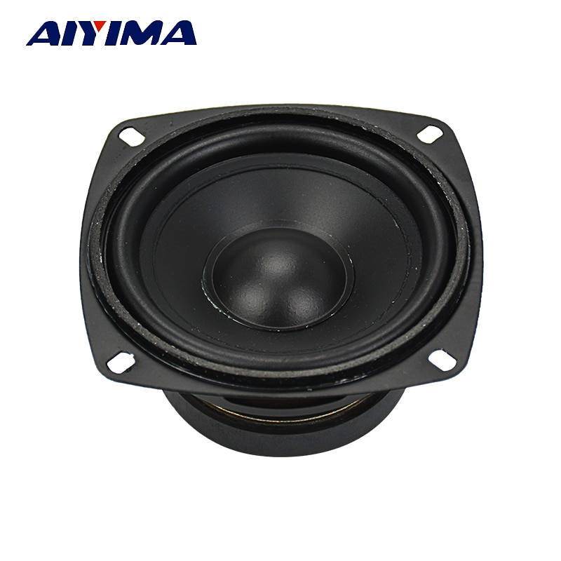 AIYIMA 1Pc 4 inch Audio Subwoofer Speaker 30 W 8 ohm Woofer Midrange Bass Computer Speakers For Home