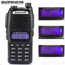 hot 10 Km Real 8W With High Mid Low UV 82 Ham Radio Station amateur Portable Radio Walkie Talkie 10km Baofeng Uv-82 Baofeng 8W