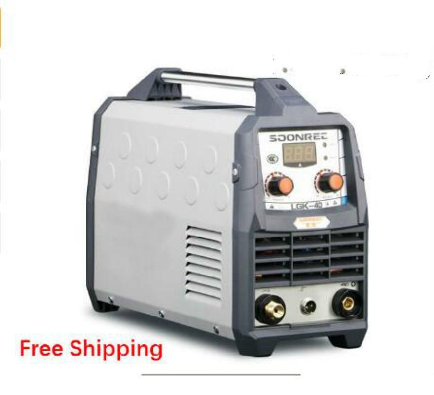 Cortadora por Plasma LGK40 CUT50 220V, cortador por Plasma con PT31, accesorios de soldadura gratis