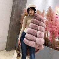 womens plus size fashions fake fur jacket winter overcoat womens tops shaggy cardigan pink white fur coat manteau femme