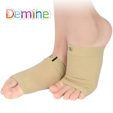 1 Pair Arch Support Sleeves Pad Plantar Fasciitis Heel Spurs Foot Care Flat Feet Relieve Pain Sleeve