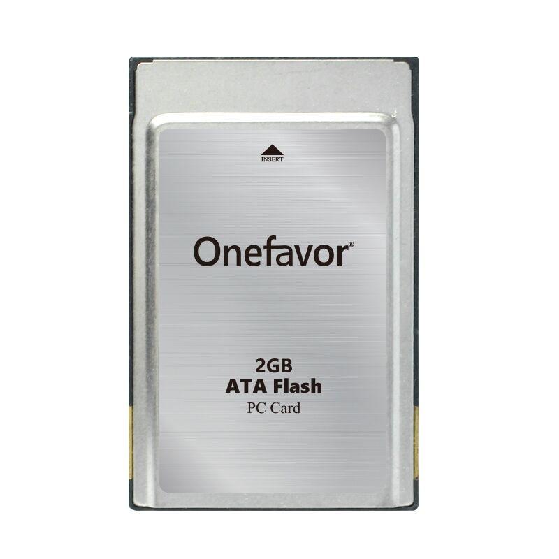 New!!! Onefavor 2GB ATA Flash Card 2G  PCMCIA PC Card Memory Card