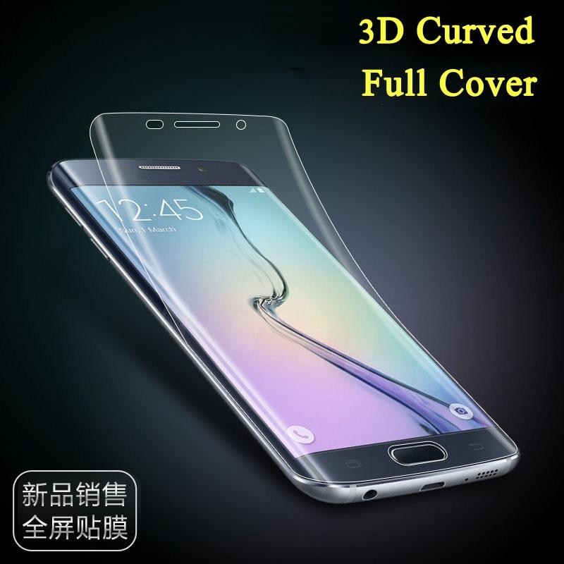 Protector de pantalla YKSPACE 3D para Samsung Galaxy S6 edge Plus S7 edge S8 S9 S10 Plus Note 8 7 FE 9
