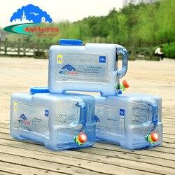 Канистры под воду с краном, удобная вещица во время отдыха на природе