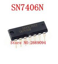 1 sztuk SN7406N DM7406N HD7406P SN7406 7406P 7406N 7406 zupełnie nowy oryginalny autentyczny Inline DIP14