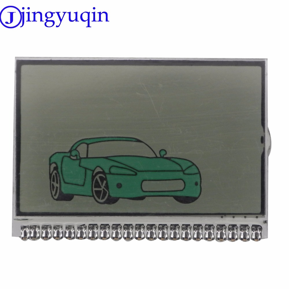 Jingyuqin 10ps rússia versão tw9010 display lcd tela para o sistema de alarme carro em dois sentidos tomahawk tw-9010 tw9010 lcd controle remoto