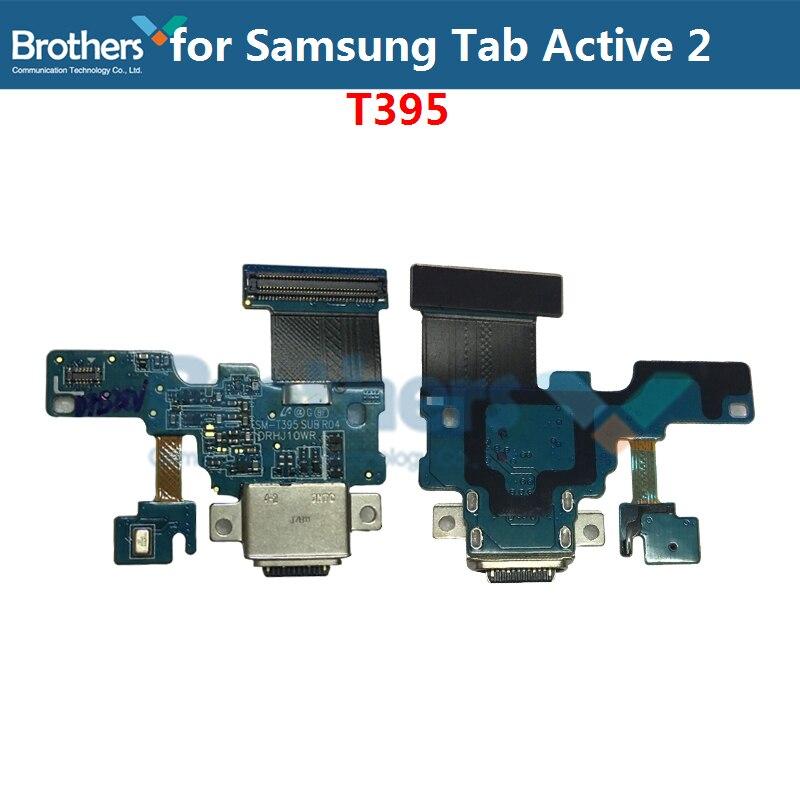 Original Para Samsung Galaxy Tab Ativo 2 T395 USB Doca de Carregamento Porto Cabo Flex para Samsung T395 Carga Connector Flex cabo Top